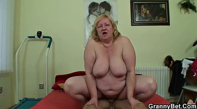 Huge tits, Mature young, Wife boy, Granny boy