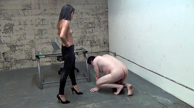 Boss, Ball, Asian feet, Ball busting, Ball bust