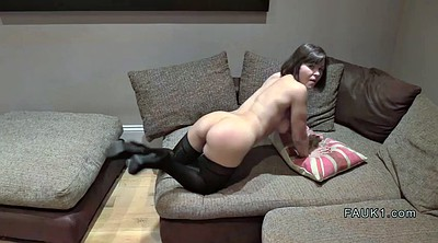Reality, Stock, Casting anal, Stocking anal