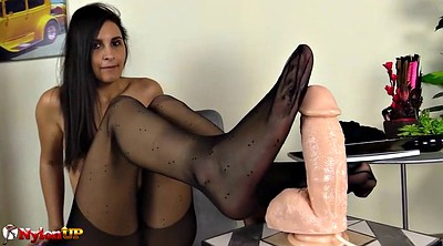 Footjob, Pantyhose foot, Pantyhose footjob