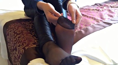 Nylon, Nylon feet, Nylon foot, Asian nylon feet