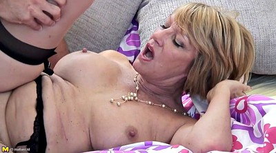Hot mom, Mature and boy, Boy and mature