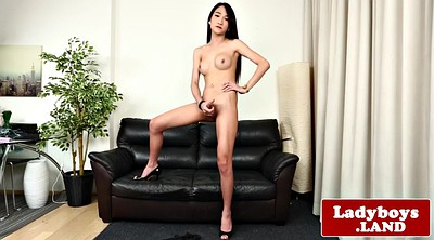 Ladyboy, Beautiful masturbation, Beautiful solo