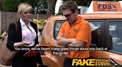 School, Fake tits, Driving school, British school