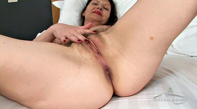 Hairy mature, Hairy solo