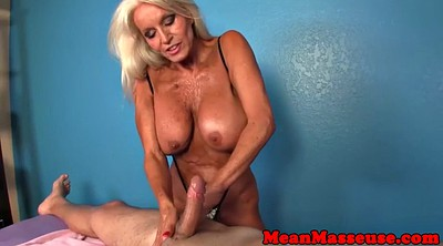 Mature massage, Mature handjob