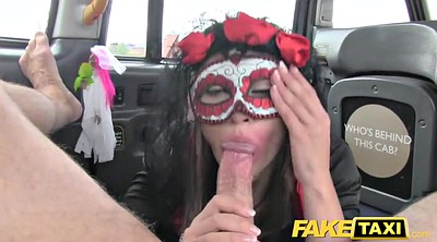 Mask, Taxi fuck, Taxi anal