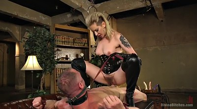 Handjob, Brutal, Mature orgasm, Leather