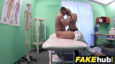 Milf, Hospital, Czech massage, Fake hospital