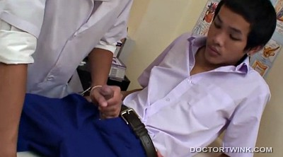 Doctor, Asian young, Bareback gay