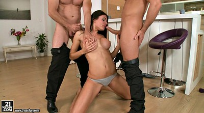 Gagging, Lure, Gag, Russian threesome