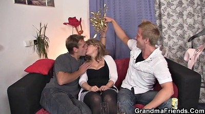 Pick up, Wife threesome, Young threesome, Young dude, Mature threesome
