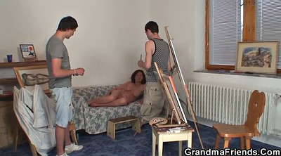 Granny young, Wife threesome