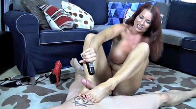 Foot, Footjob, Milf footjob