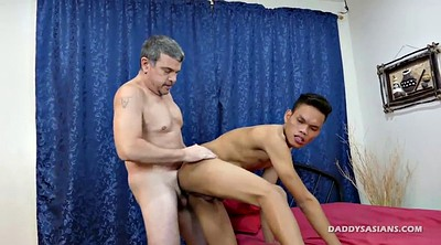 Ass licking, Gay boy, Asian daddy, Miking, Daddy fuck