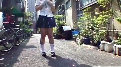 Japanese outdoor, Japanese uniform, Japanese public, Subtitle, Rope, Japanese subtitle