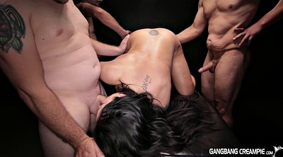 Gangbang creampie, Dildo riding, Dildo ride