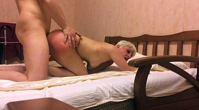 Short hair, Russian mom, Short, Amateur mature