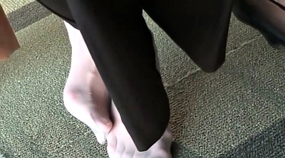 Candid, Nylon feet, Library