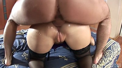 Russian, Brutal, Anastasia, Brutal anal, Big ass oiled anal, Big ass doggy