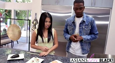 Asian black, Asian and black, Asian pussy