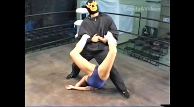Japanese bdsm, Wrestling, Mixed wrestling, Japanese wrestling