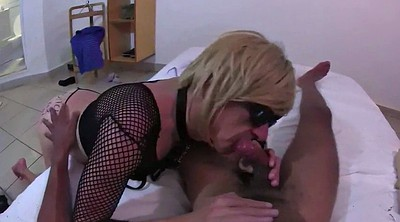 Interracial, Milf boss