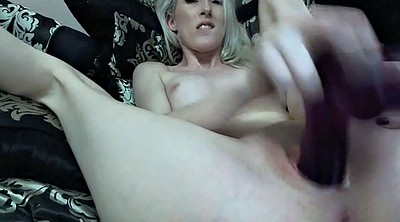 Big dildo, Teen webcam
