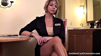 Foot fetish, Foot job, Interview, Job