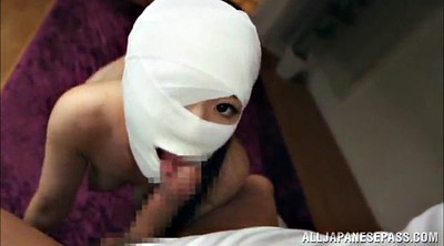 Masked, Asian big tits