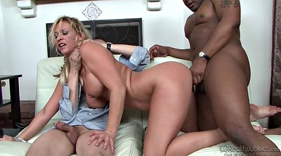 Wife double, Wife anal, Anal interracial