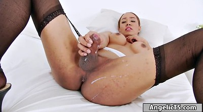 Handjobs, Jerk off, Asian solo, Jerking off, Shemale big