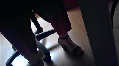 Foot fetish, Under, Office foot, Candid foot, Candid feet