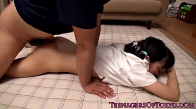 Abuse, Schoolgirl, Japanese schoolgirl, Japanese toy, Japanese blowjob, Japanese cute