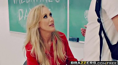 Creampie, Desperate, Brazzers school