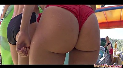Video, Beach voyeur, Video hot