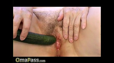 Hairy granny, Vegetable, Amateur matures