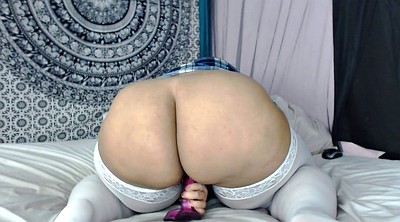 Huge dildo, Bbw big ass
