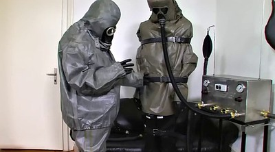 Gloves, Suit, Glove, German bdsm, German latex, Three