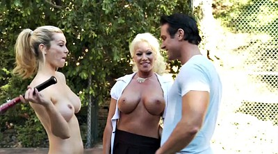 Celebrity, Big tits threesome, Spa