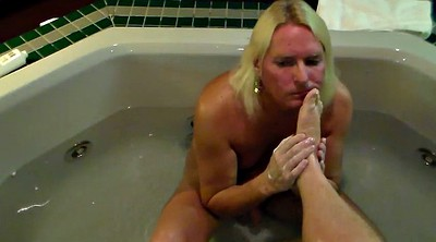 Foot job, Feet worship, Mature feet, Mistress foot