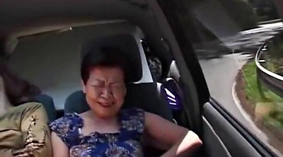 Asian granny, Granny orgy