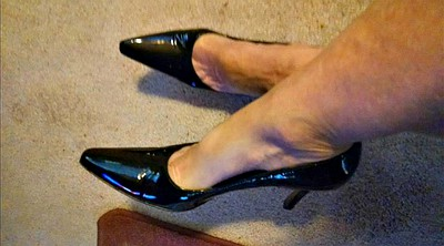 Foot, Shoes, Shoe, Milf foot, Mature foot, Mature feet