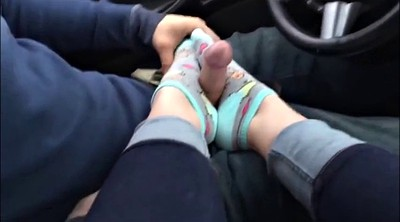 Socks, Sock, Foot job, Feet fetish, Sock job, Feet job
