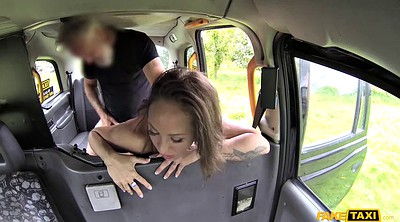Fake, Spanish, Outdoor pee, Milf car, Fake driver