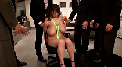 Office, Japanese office, Japanese big boobs