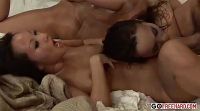 Asa akira, Akira, Asian threesome, Babe anal