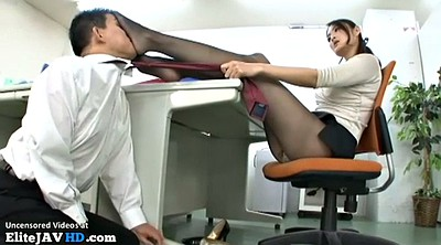 Japanese massage, Japanese pantyhose, Pantyhose foot, Japanese foot, Asian feet, Nylon feet