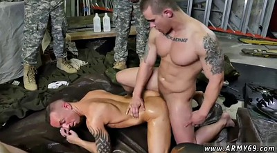 Group, Sex porn, Military, Interracial group