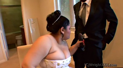 Wedding, Interracial bbw